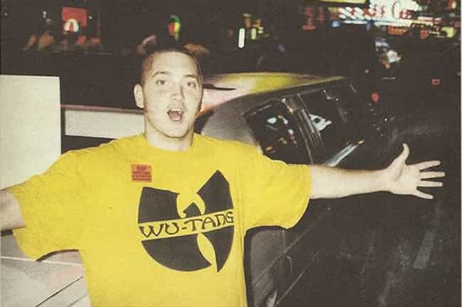 Young Eminem in Yello Wu... is listed (or ranked) 6 on the list 20 Pictures of Young Eminem