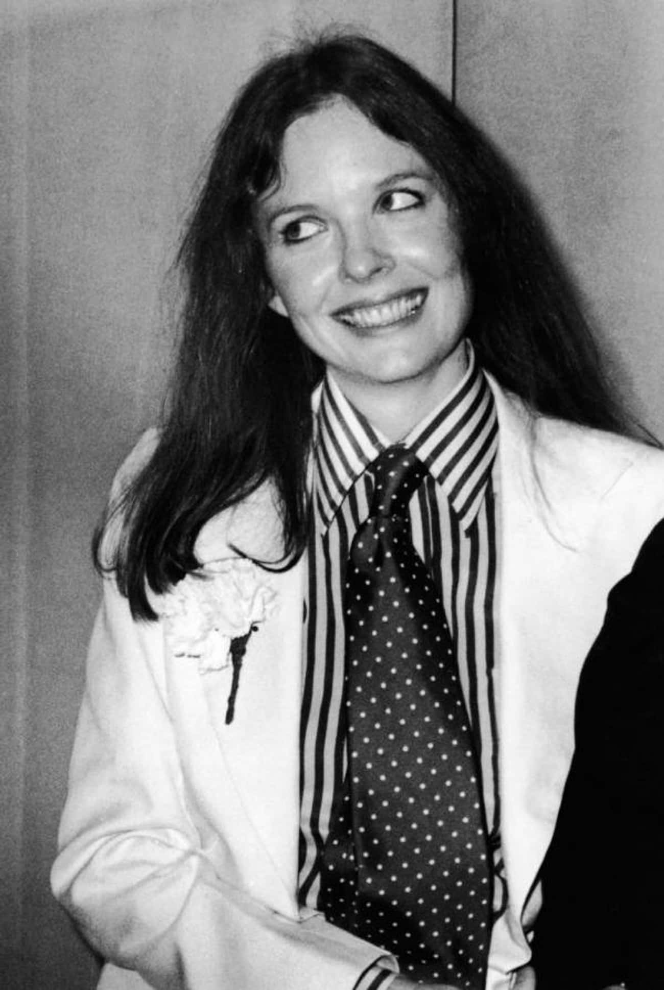 Young Diane Keaton in a White  is listed (or ranked) 4 on the list 20 Pictures of Young Diane Keaton