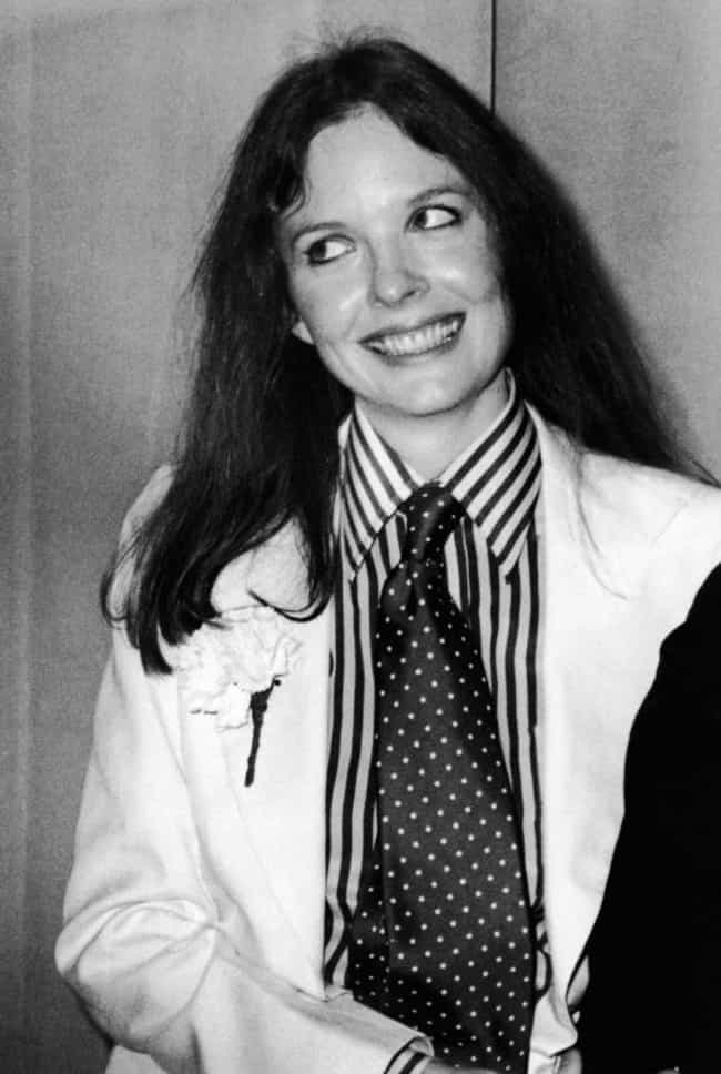 Young Diane Keaton in a White ... is listed (or ranked) 4 on the list 20 Pictures of Young Diane Keaton