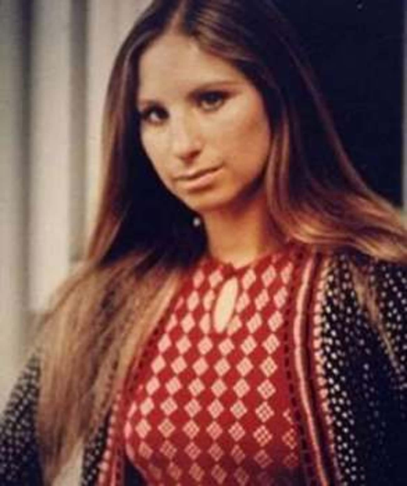 Young Barbra Streisand in Red  is listed (or ranked) 4 on the list 20 Pictures of Young Barbra Streisand