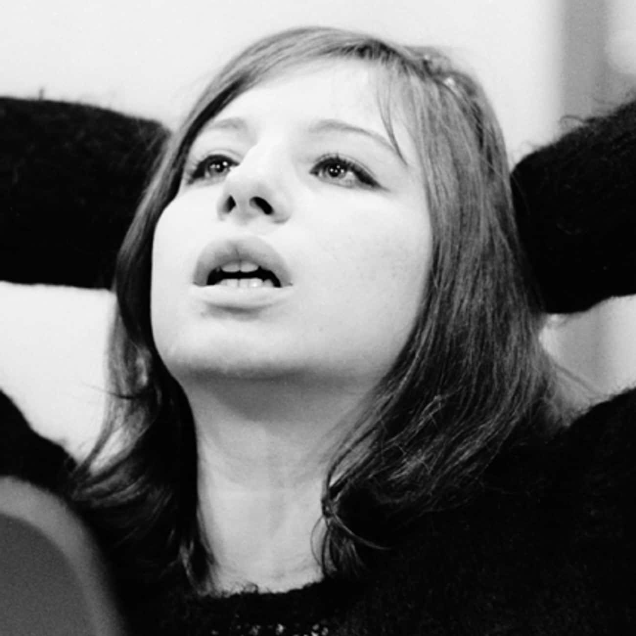 Young Barbra Streisand in Blac is listed (or ranked) 3 on the list 20 Pictures of Young Barbra Streisand