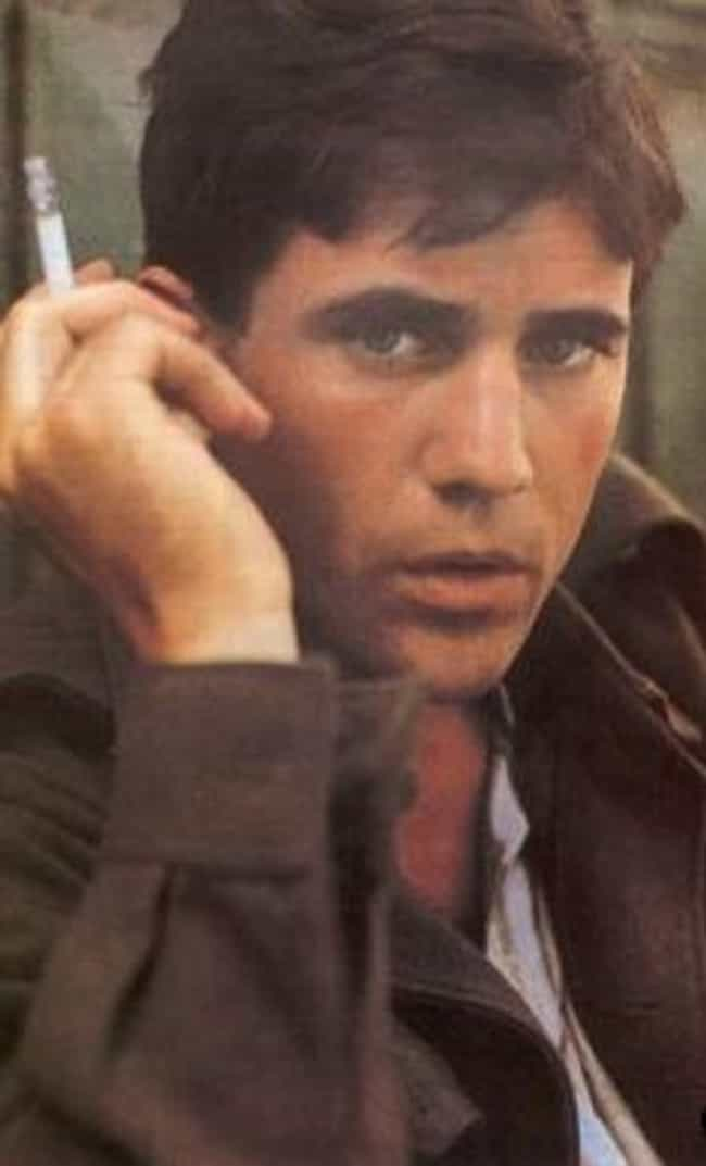 Young Mel Gibson Smoking Cigar... is listed (or ranked) 3 on the list 20 Pictures of Young Mel Gibson