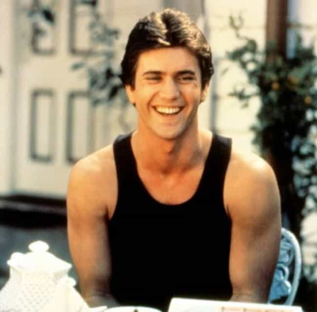 Young Mel Gibson in Black Tank... is listed (or ranked) 4 on the list 20 Pictures of Young Mel Gibson