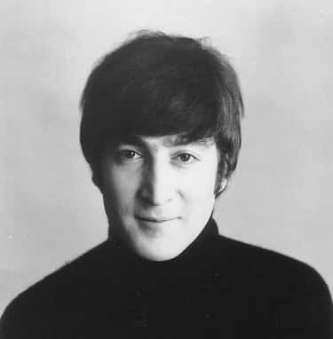 Young John Lennon in Black Turtleneck