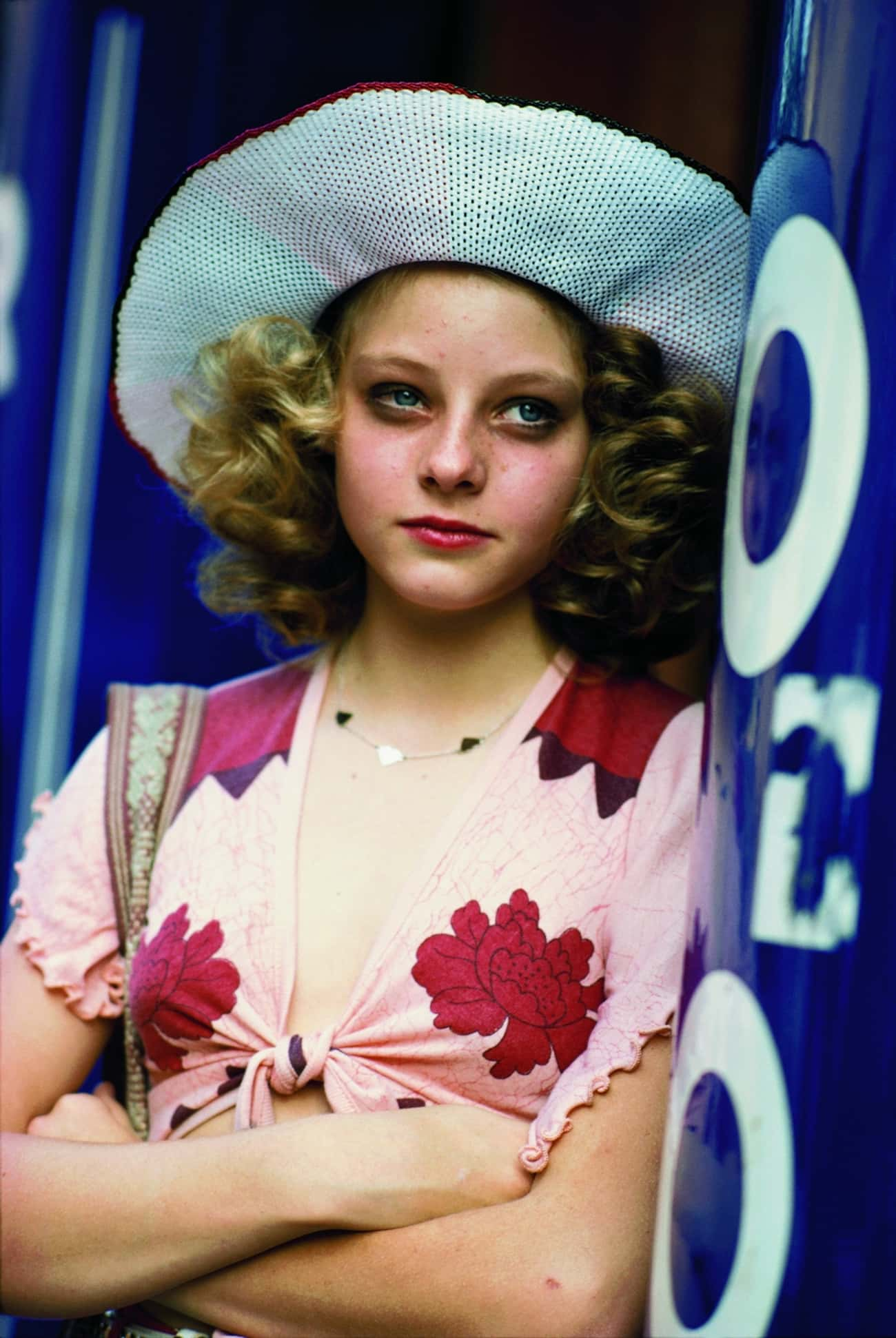 Young Jodie Foster in Pink Flo is listed (or ranked) 3 on the list 20 Insanely Cute Pictures of Young Jodie Foster