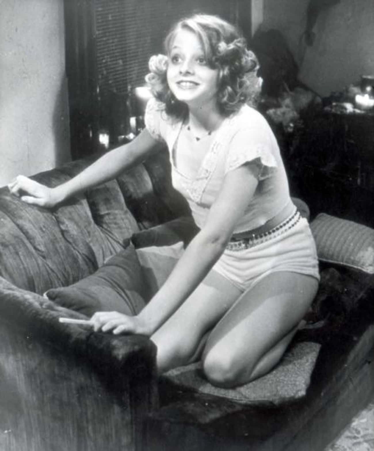 Young Jodie Foster in White Sh is listed (or ranked) 2 on the list 20 Insanely Cute Pictures of Young Jodie Foster