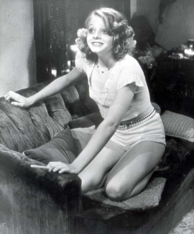 Young Jodie Foster in White Sh... is listed (or ranked) 2 on the list 20 Insanely Cute Pictures of Young Jodie Foster
