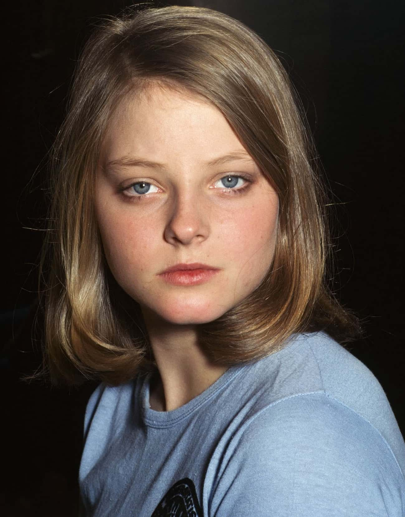Young Jodie Foster in Blue Shi is listed (or ranked) 4 on the list 20 Insanely Cute Pictures of Young Jodie Foster