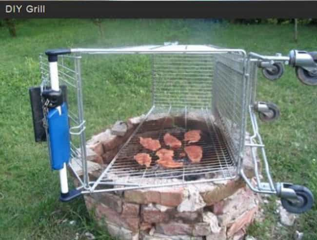 DIY Grill or the Last Thing Yo... is listed (or ranked) 1 on the list The Worst Life Hacks That Actually Make Life Terrible