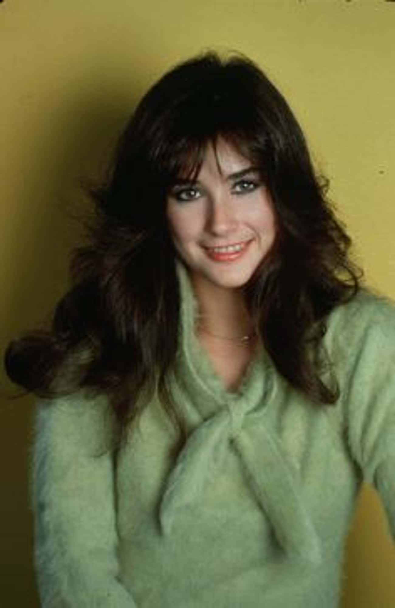 A Young Demi Moore In A Green  is listed (or ranked) 2 on the list 25 Pictures of Young Demi Moore