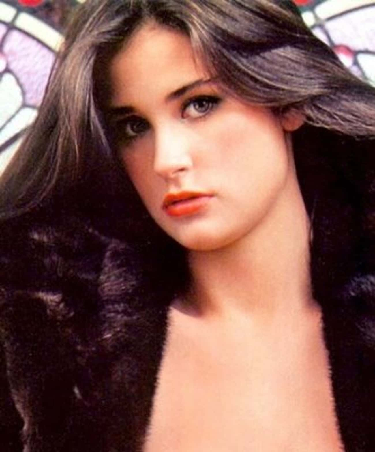 Young Demi In A Fur Coat is listed (or ranked) 3 on the list 25 Pictures of Young Demi Moore