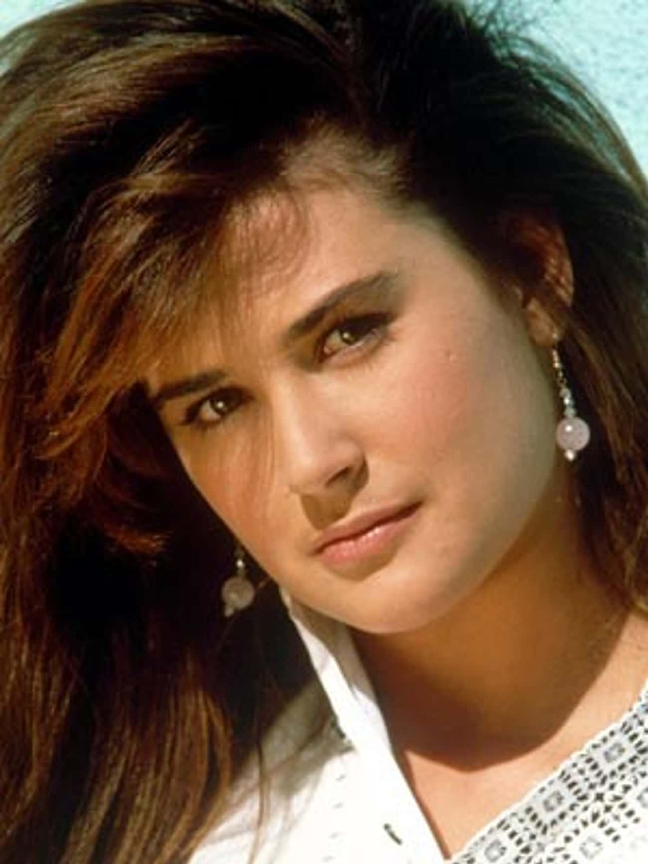 A Young Demi Moore Head Shot is listed (or ranked) 4 on the list 25 Pictures of Young Demi Moore