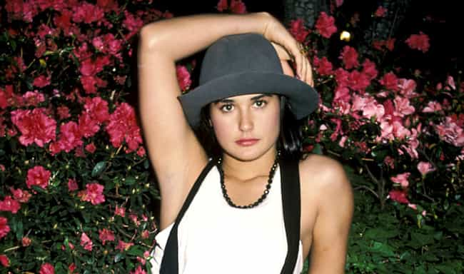Young Demi Moore Picking... is listed (or ranked) 5 on the list 25 Pictures of Young Demi Moore