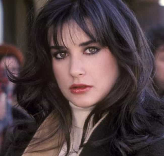 A Young Demi Bundled Up ... is listed (or ranked) 6 on the list 25 Pictures of Young Demi Moore