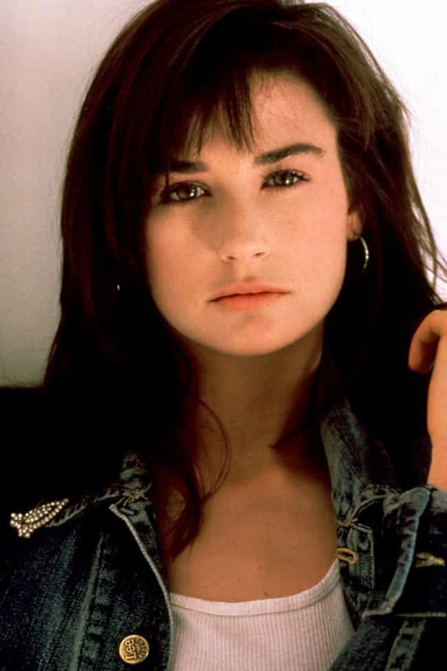 Young Demi Moore In Her ... is listed (or ranked) 7 on the list 25 Pictures of Young Demi Moore