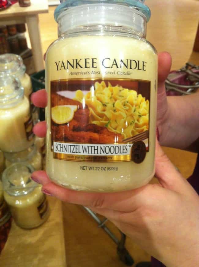 Let The Taste Of Bavaria... is listed (or ranked) 1 on the list The Weirdest (Real) Yankee Candle Scents in Existence
