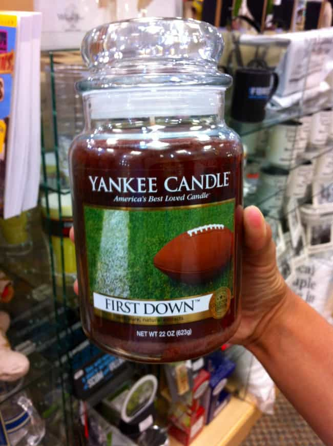 Yeah, Sports! is listed (or ranked) 3 on the list The Weirdest (Real) Yankee Candle Scents in Existence