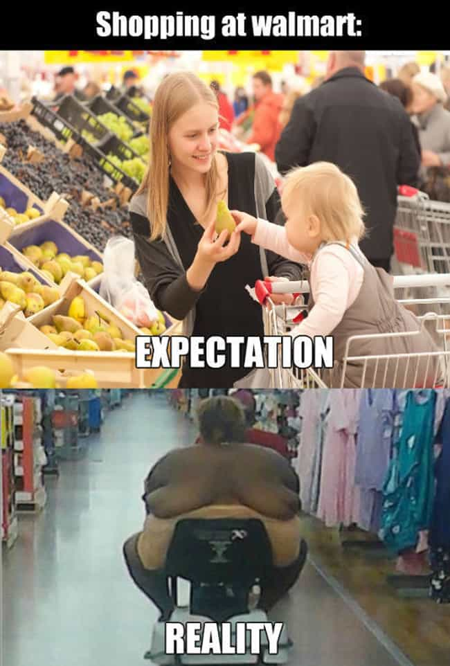 The Ugly Reality Of Walmart is listed (or ranked) 3 on the list The Best Walmart Memes On The Internet