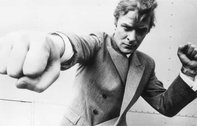 Young Michael Caine in a... is listed (or ranked) 1 on the list 15 Pictures of Young Michael Caine