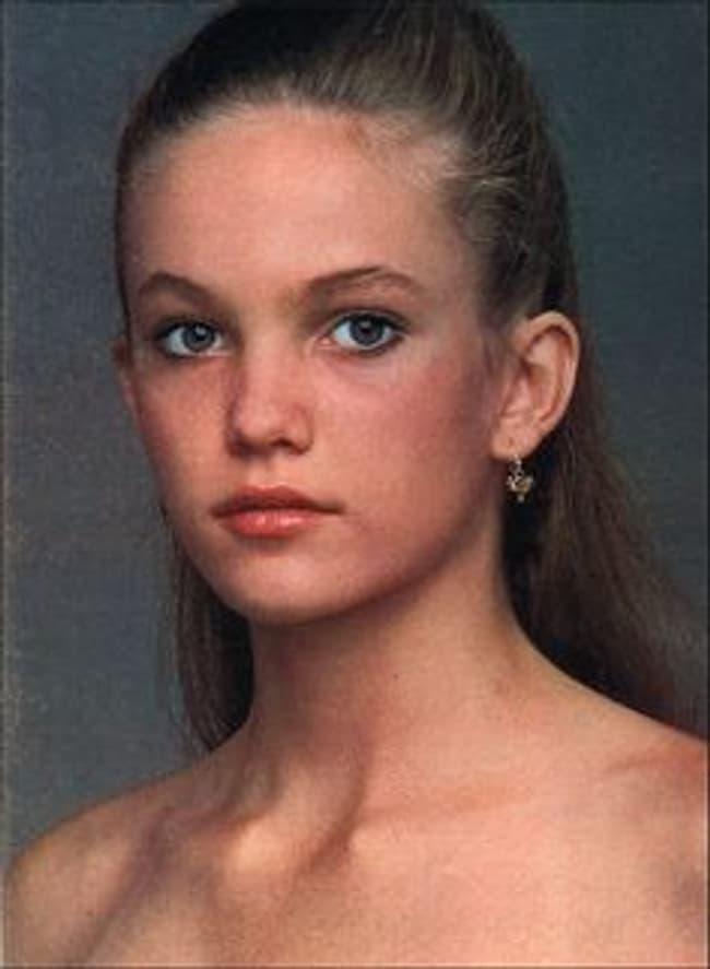 Young Diane Lane Teen Headshot