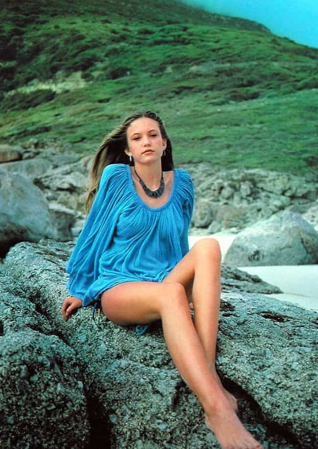 Young Diane Lane in Blue Blous... is listed (or ranked) 3 on the list 20 Pictures of Young Diane Lane
