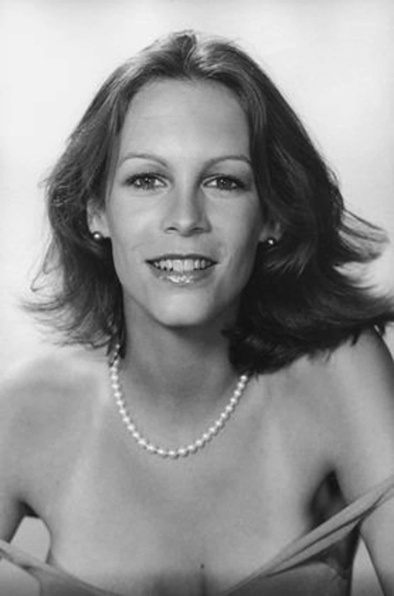 Jamie With A Pearl Necklace is listed (or ranked) 3 on the list Take A Trip Down Memory Lane With These Pictures Of Young Jamie Lee Curtis