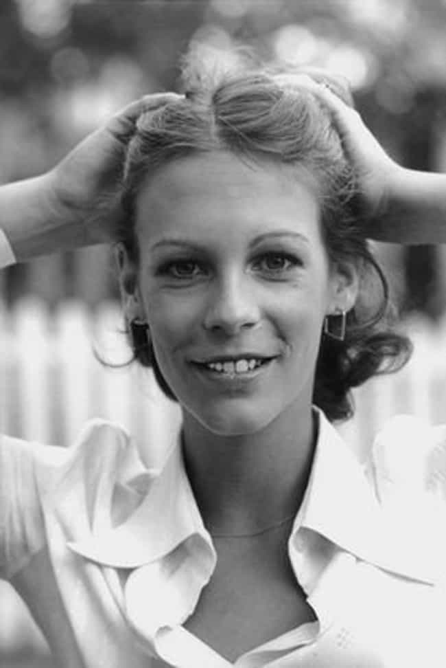 Jamie Lee Curtis Shows O... is listed (or ranked) 4 on the list Take A Trip Down Memory Lane With These Pictures Of Young Jamie Lee Curtis