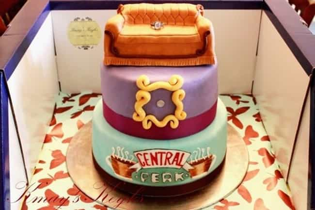 Friends Cake is listed (or ranked) 3 on the list 30 Awesome TV and Movie Themed Desserts