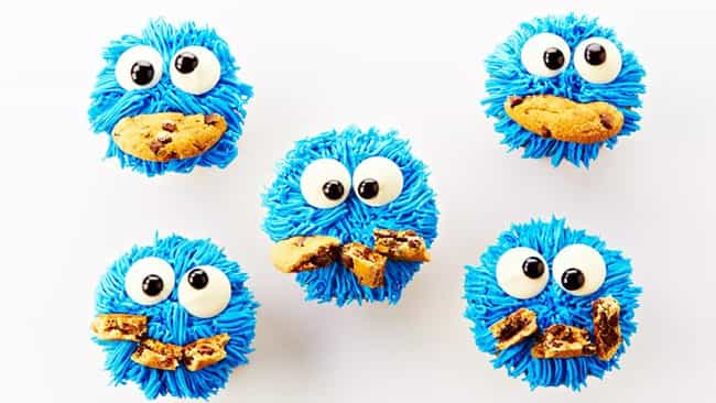 Cookie Monster Cupcakes is listed (or ranked) 2 on the list 30 Awesome TV and Movie Themed Desserts