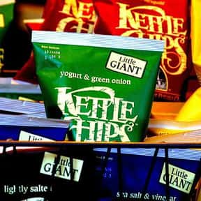 Kettle Chips is listed (or ranked) 14 on the list The World's Most Delicious Chips, Crisps & Crunchy Snacks