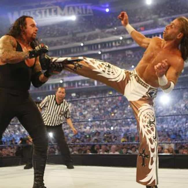 The Undertaker vs. Shawn... is listed (or ranked) 2 on the list The Best Wrestlemania Matches