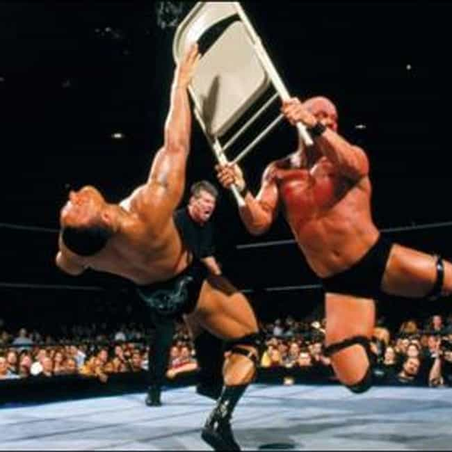 """""""Stone Cold"""" Steve Austi... is listed (or ranked) 4 on the list The Best Wrestlemania Matches"""