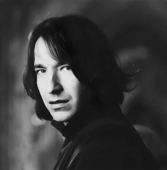 Young Alan Rickman in Bl... is listed (or ranked) 4 on the list 12 Pictures of Young Alan Rickman