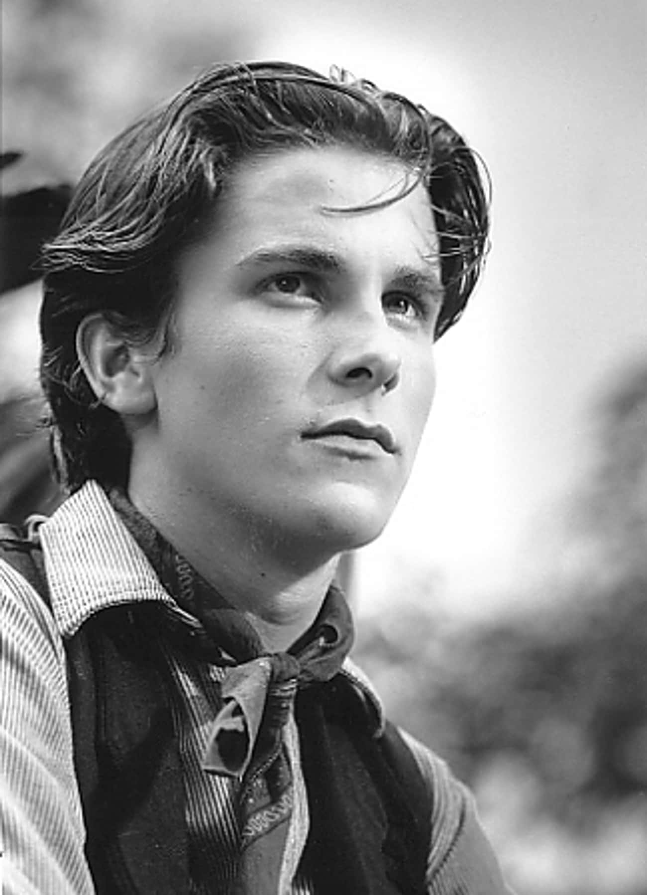 Young Christian Bale as Teenag is listed (or ranked) 1 on the list 20 Pictures of Young Christian Bale