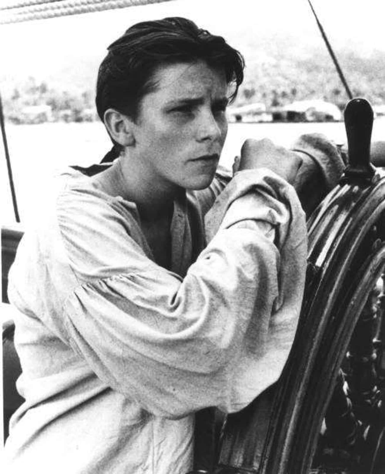 Young Christian Bale in White  is listed (or ranked) 3 on the list 20 Pictures of Young Christian Bale