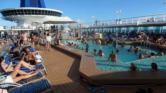 Head To Adults-Only Areas If Y is listed (or ranked) 21 on the list 29 Secrets from Aboard A Cruise Ship