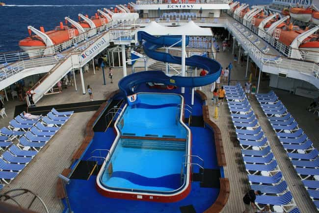 Skip Port Of Call And Enjoy Th is listed (or ranked) 10 on the list 29 Secrets from Aboard A Cruise Ship