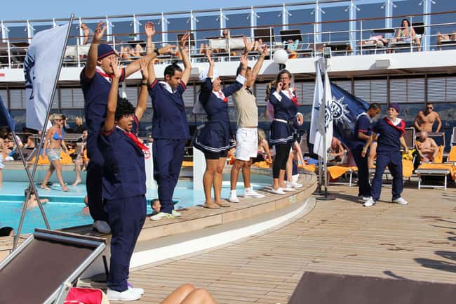 Try To Party With The Crew For is listed (or ranked) 11 on the list 29 Secrets from Aboard A Cruise Ship