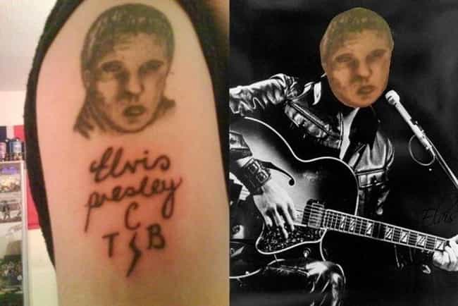The King Baby Thing is listed (or ranked) 4 on the list The Most Horrifying Tattoo Fails on the Internet