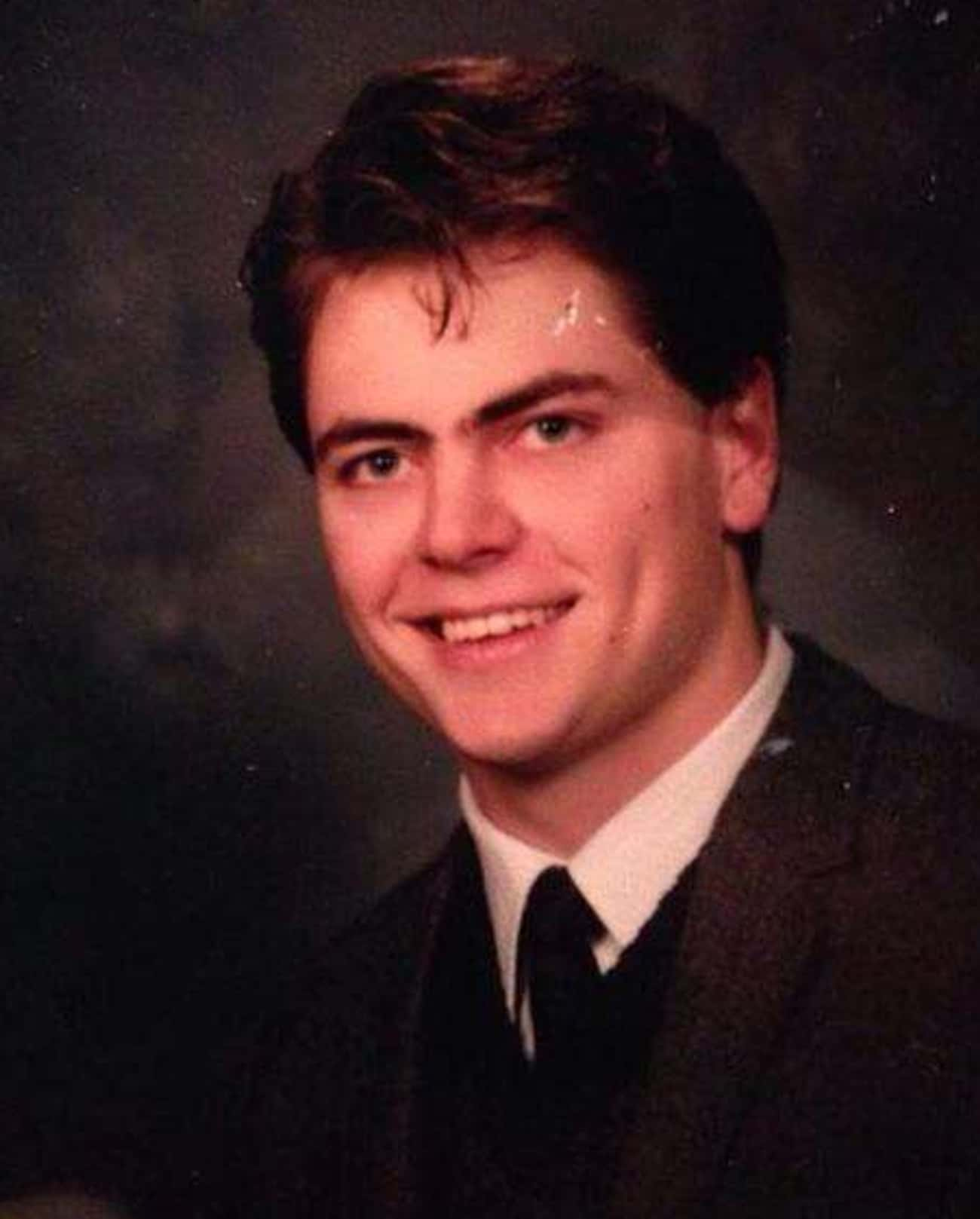 Young Nick Offerman High School Yearbook Photo