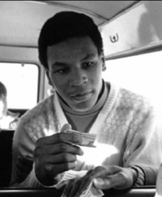 Young Mike Tyson in White Swea... is listed (or ranked) 2 on the list 15 Pictures of Young Mike Tyson