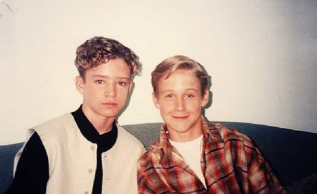 Young Justin With Ryan Gosling is listed (or ranked) 2 on the list 24 Pictures of Young Justin Timberlake