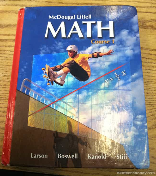 A + B=RADICAL! is listed (or ranked) 1 on the list The Slickest '90s Kids from Your School Textbooks