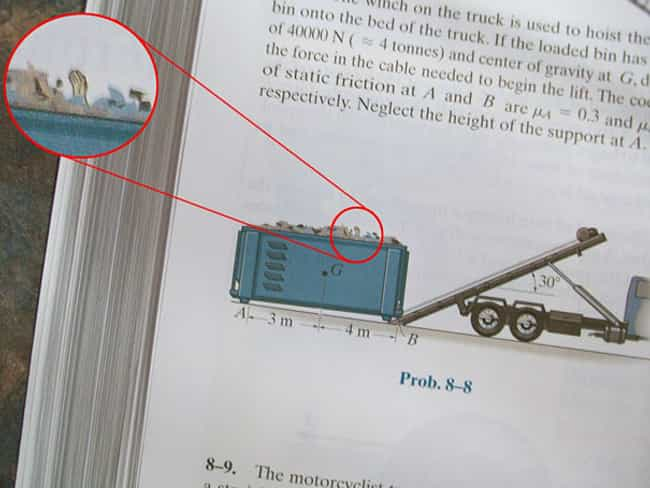 Need a Hand? Here's One!... is listed (or ranked) 3 on the list The Funniest Things Ever Found in Textbooks