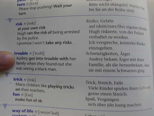 Germany, You're Not Help... is listed (or ranked) 1 on the list The Funniest Things Ever Found in Textbooks