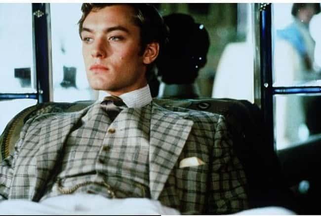 スーツのジュード・ロウ