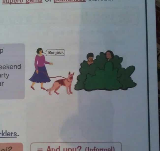 Hello, Creeps! is listed (or ranked) 4 on the list The Funniest Things Ever Found in Textbooks