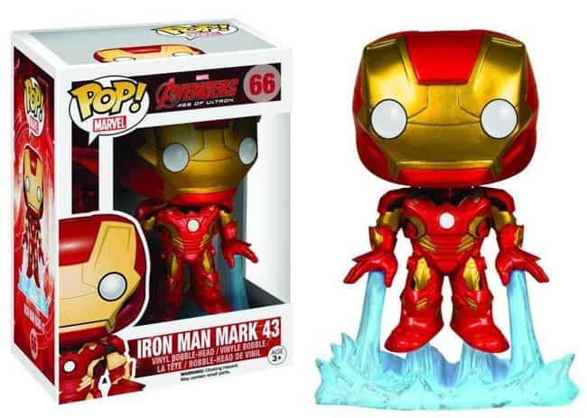 Age of Ultron: Iron Man Mark 4... is listed (or ranked) 2 on the list The Best Marvel Pop Funko Figures