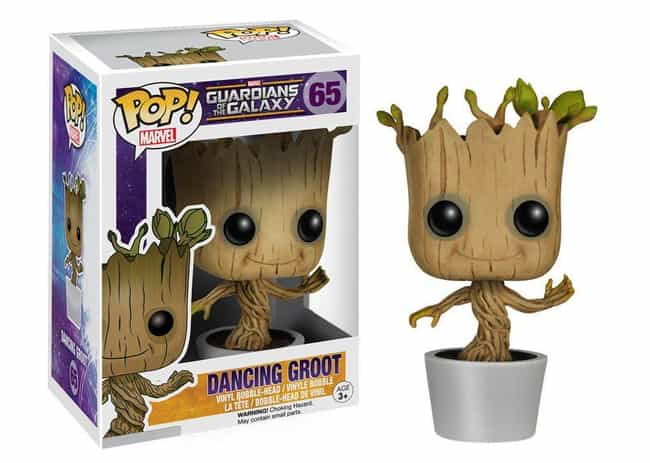 Guardians of the Galaxy: Danci... is listed (or ranked) 1 on the list The Best Marvel Pop Funko Figures