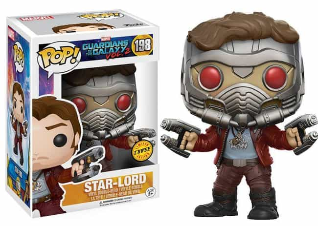 Star-Lord is listed (or ranked) 3 on the list The Best Marvel Pop Funko Figures